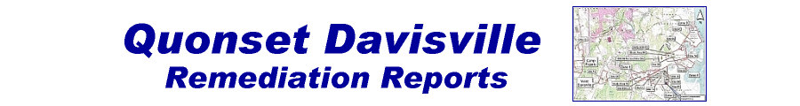 Quonset-Davisville Remediation Reports